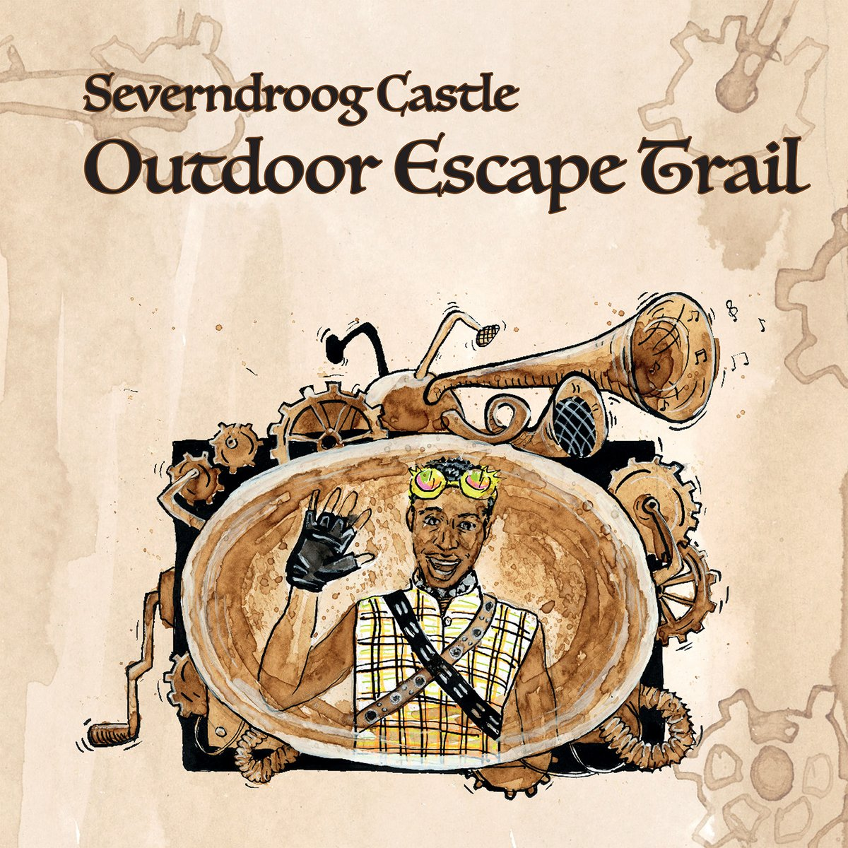 #SouthLondon families, it's time for an #outdooradventure! Count Silvester of @Severndroog needs your help! Complete a series of missions through Castle Woods using an intriguing landmarks map+ intergalactic travelling guide! Get a Mission Pack from @TerraceTearoom & off you go! https://t.co/Y6GdQ7YhSs