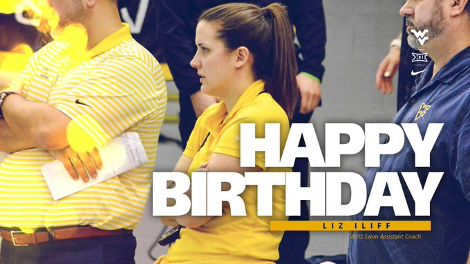 Wishing a very happy birthday to assistant coach Liz Iliff! We hope you have a great day!
