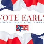 #EarlyVoting locations in #HarrisCounty are open today until 7 PM. This is the last weekend of early voting. Find early voting locations at https://t.co/PgjbDHrVIS. #HarrisVotes