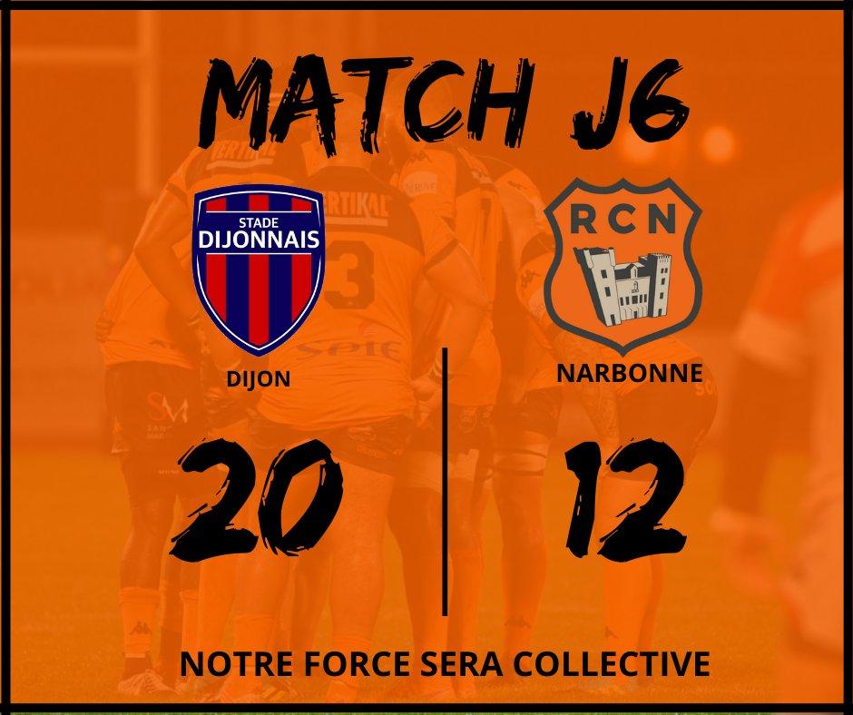 Fin du match à Dijon !  On se retrouve samedi 31 octobre à 18h30 pour la...
