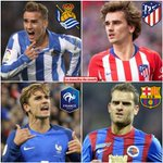 Image for the Tweet beginning: L'évolution de Griezmann 😳