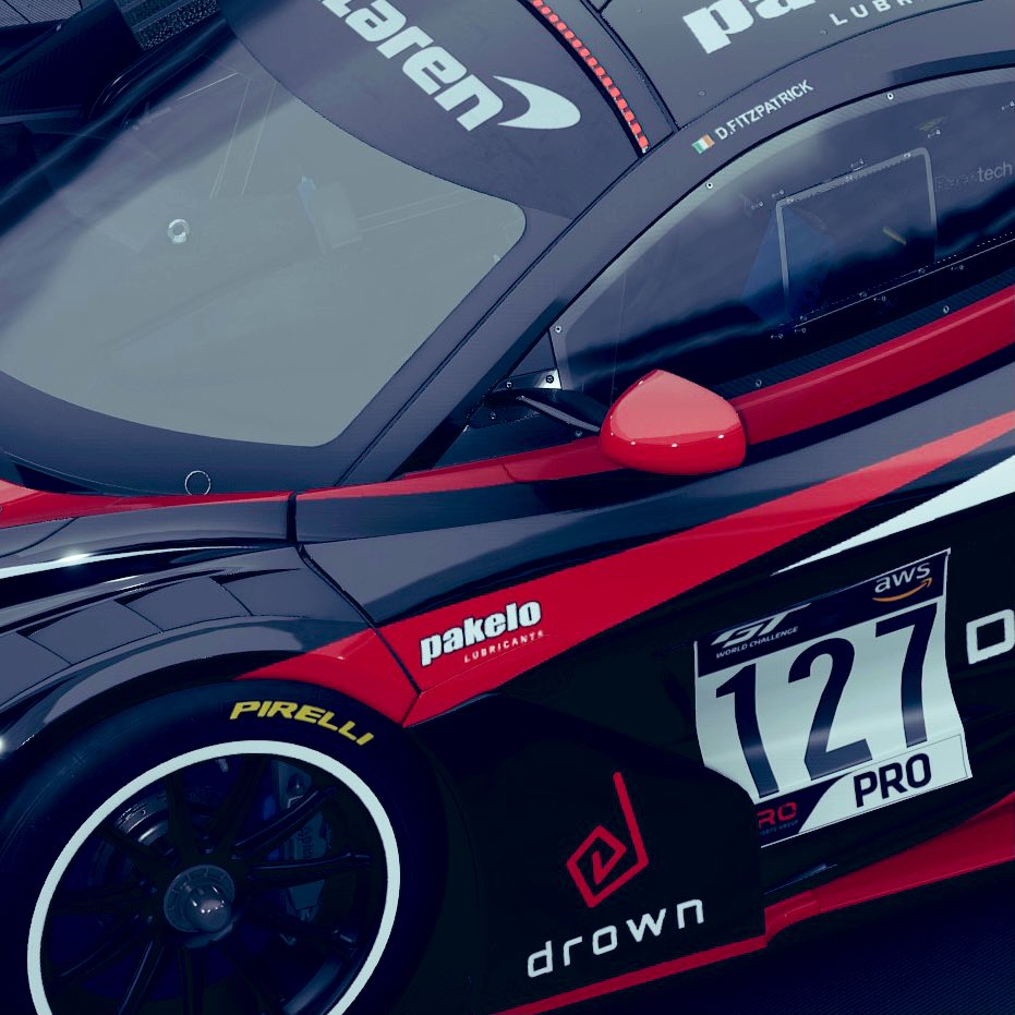 Sneak peak of current livery project that we streamed today. Final tweaks tomorrow. It's looking HOT🔥   #Simracing #beACC #livery #assettocorsacompetizione #mclaren720s https://t.co/OM2BhNcX9d