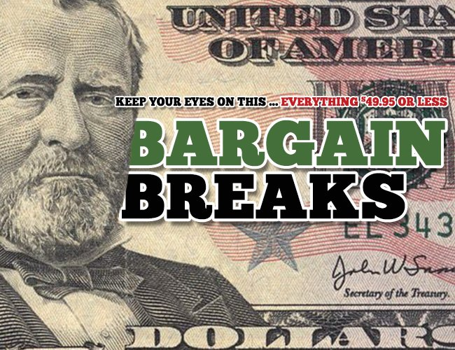Check out the bargain breaks section here -- everything under $50 >> https://t.co/UIaJkrIF4J #collect https://t.co/sjzhtEDmYS