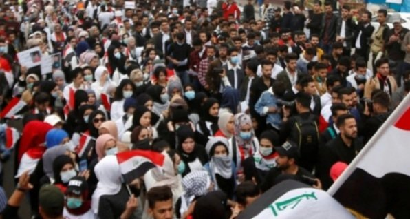 #GICJ warns of grave #HumanRights violations on the anniversary of the peaceful gathering in #Iraq, Sunday, 25 Oct2020. GICJ calls the #UN #OHCHR and #UNAMI to exert all pressure on the Iraqi authorities to protect the demonstrators. #Justice Full text: https://t.co/efSZyTrmls https://t.co/Sv0j8lfNcE