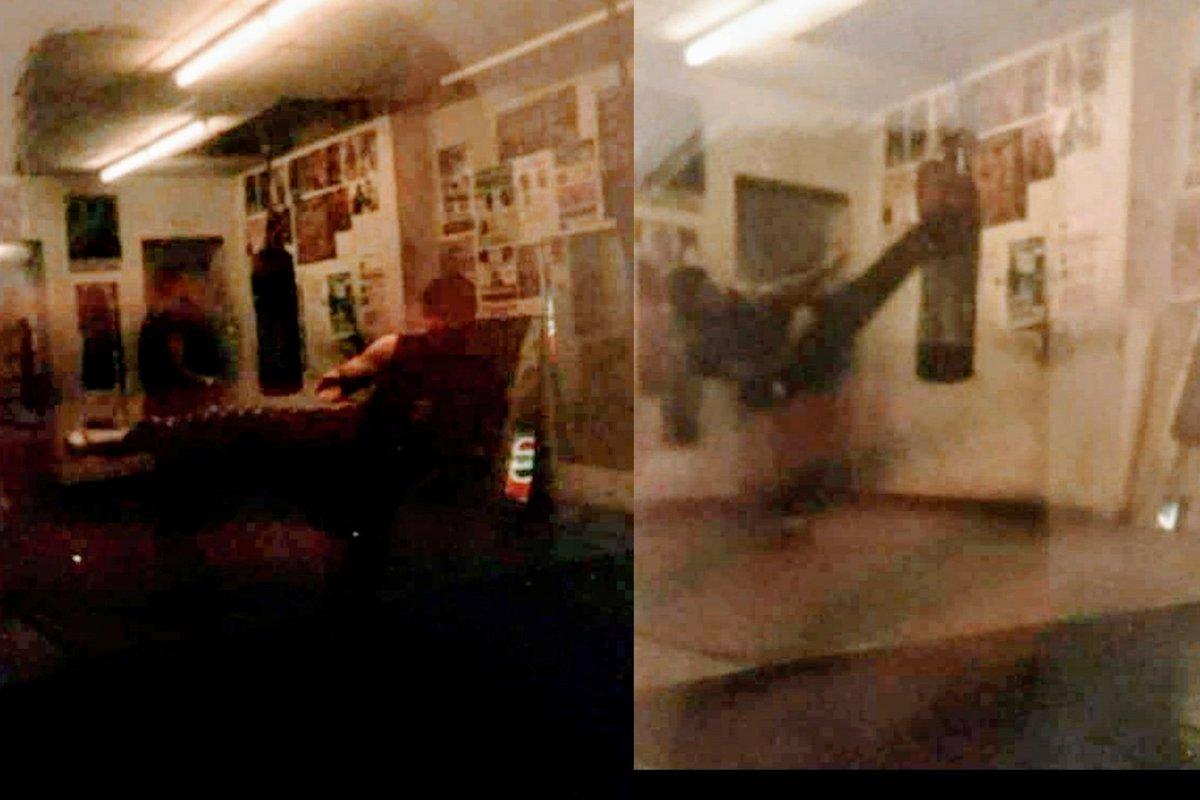 Dragon Lee & The Tiger Training at Morris Park Boxing GYM Bronx, NY. #AnthonyTheTigerCruz #TeamRenzoGracie @Twitter https://t.co/BWF0jfOpOk