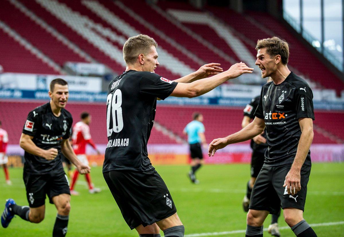 Jonas #Hofmann's last 5 games 📊  #BMGFCU 🅰️ #KOEBMG 🅰️🅰️ #BMGWOB ⚽ #InterBMG ⚽ #M05BMG ⚽🅰️  #DieFohlen...