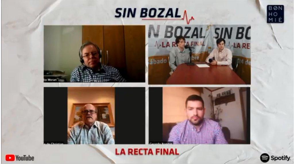 Desde la Zona Austral nos acompañan @ch_matheson Gerardo Bombin y Claudio Morales  🔴Estamos en vivo en #SinBozal  https://t.co/rXKaL7QBAc https://t.co/P0gA78l2Jz