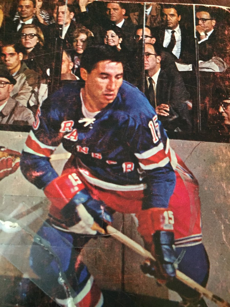 "The ""Chief"", Jimmy Neilson. Steady physical dee man, on Bway from '62-74. 811 GP, 298 pts & 762 PIM's. Also played 65 Ranger playoff games https://t.co/iQIcnyh2fU"