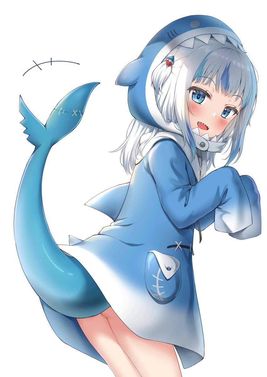 サメちゃんぐらちゃん#gawrt #gawrgura