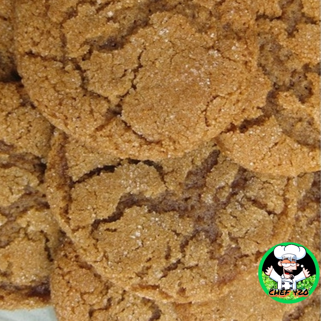 Ginger Bud SnapsThese are very tasty, the molasses, ginger and marijuana go great together. I like to make a big ol' batch and freeze a bunch for later. By CHEF 420  https://t.co/q6d0Aokml0  #Chef420 #Edibles #Medibles #CookingWithCannabis #CannabisRecipes #InfusedRecipes https://t.co/6n4EECpwsJ