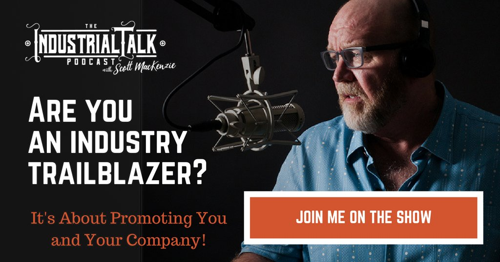 Promote YOU and your COMPANY on Industrial Talk!  Please contact me at: https://t.co/M7oETqcAy5 - Let's make this happen! #podcasting #industrialtalk https://t.co/03u4ueoR6e