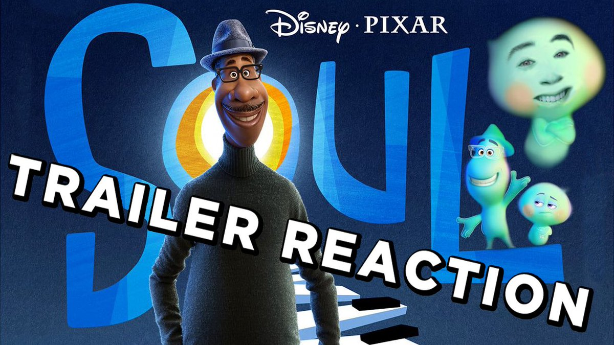 @PixarSoul will bypass theaters and go straight to @disneyplus on December 25th and we have a shiny new trailer to celebrate! Check the link below for my reaction and thoughts!   #Soul #PIXAR #COVID19 #TrailerReaction  https://t.co/gb9OyUly0z https://t.co/MHt8xyIQZ1