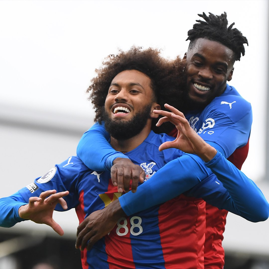 Image for the Tweet beginning: 🥰 A first Palace goal