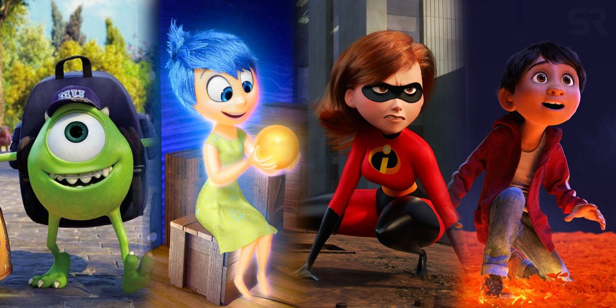 Pixar Animation has made 22 movies going back more than two decades, and almost all have been remarkable achievements. We rank each #Pixar film from worst to best. https://t.co/h0TSBAugH5 https://t.co/STj3JiHBA5