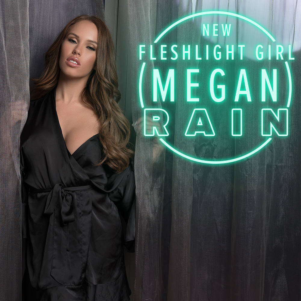 Our newest Fleshlight Girl, @meganmecrazyXX is here to give you that WAP! Experience the flood at Fleshlight.com/meganrain