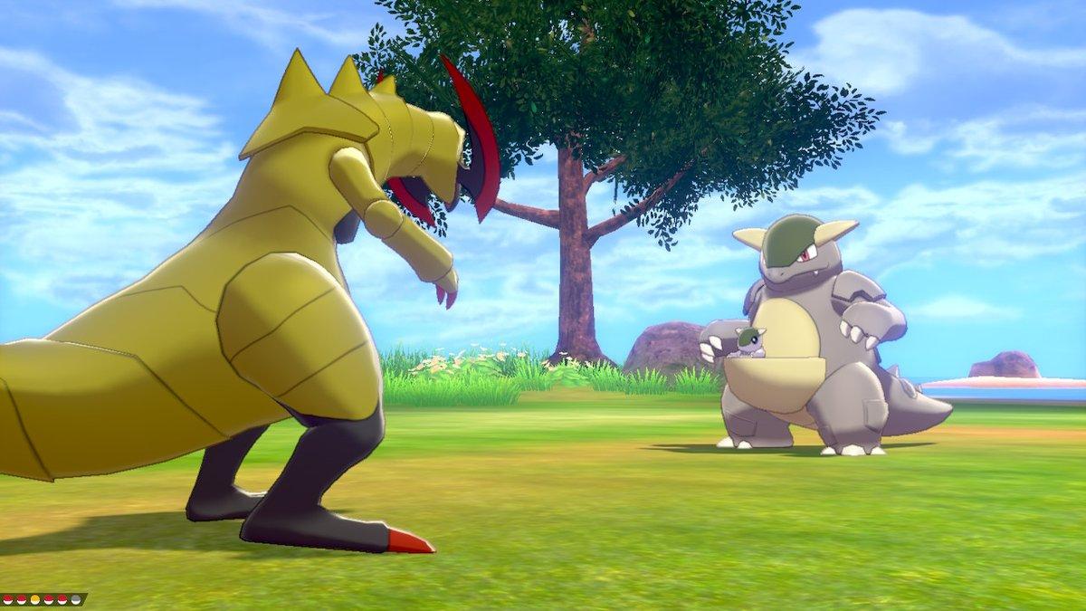 I literally screamed. #PokemonSwordShield #NintendoSwitch