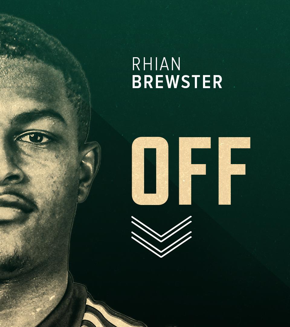 55' First Blades change.  Oli Burke is on for Brewster. https://t.co/DXOu95fZST
