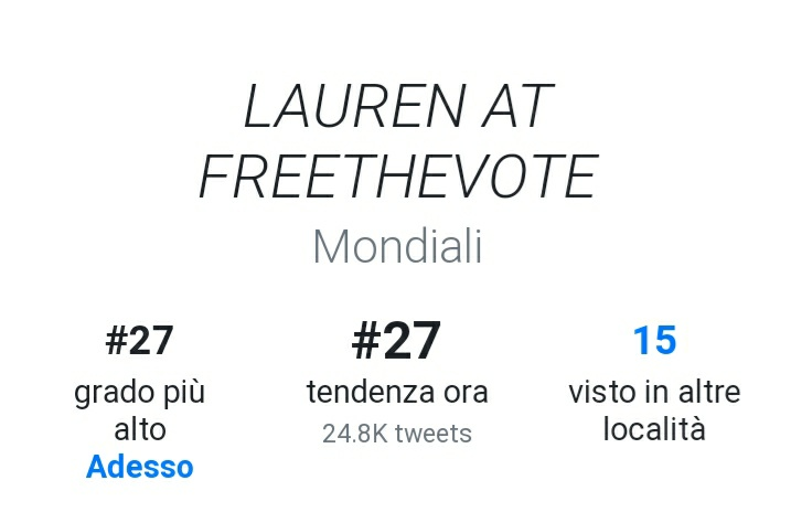 LAUREN AT FREETHEVOTE