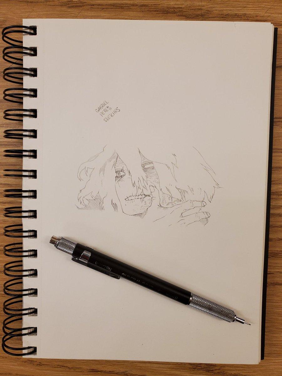Tomura Shigaraki 🖊️  #sketchbook #sketchbookart #sketching #sketchbookdrawing #dailysketches #sketchdaily #pendrawing #quicksketch #justdraw #sketchpad #sketchoftheday #pencildrawing #figuredrawing #drawsomething #draweveryday #artofdrawing #drawdaily #inkdrawing #mysketchbook https://t.co/Uu47Z5etkn