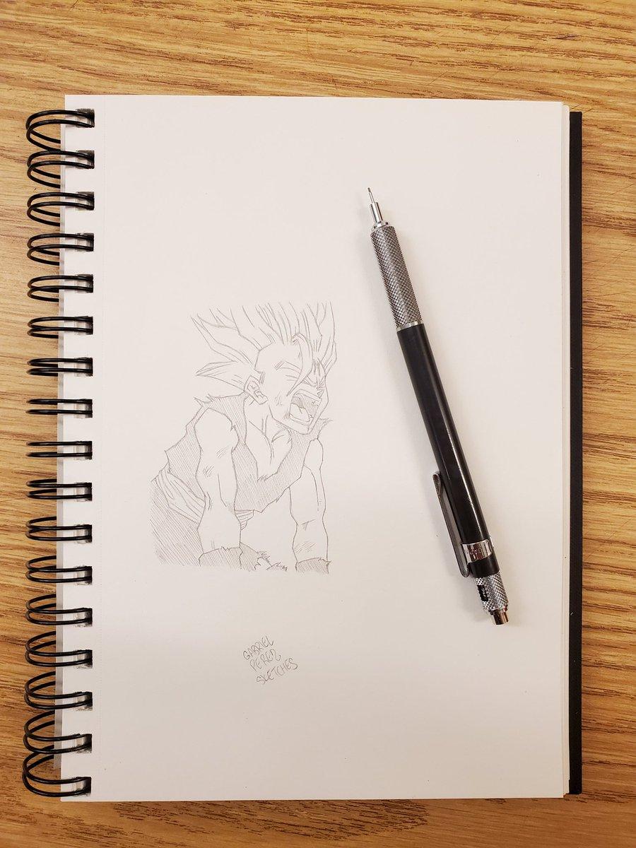 Teen Gohan SS2 🖊️  #sketchbook #sketchbookart #sketching #sketchbookdrawing #dailysketches #sketchdaily #pendrawing #quicksketch #justdraw #sketchpad #sketchoftheday #pencildrawing #figuredrawing #drawsomething #draweveryday #artofdrawing #drawdaily #inkdrawing #mysketchbook https://t.co/NiirCyyHv5