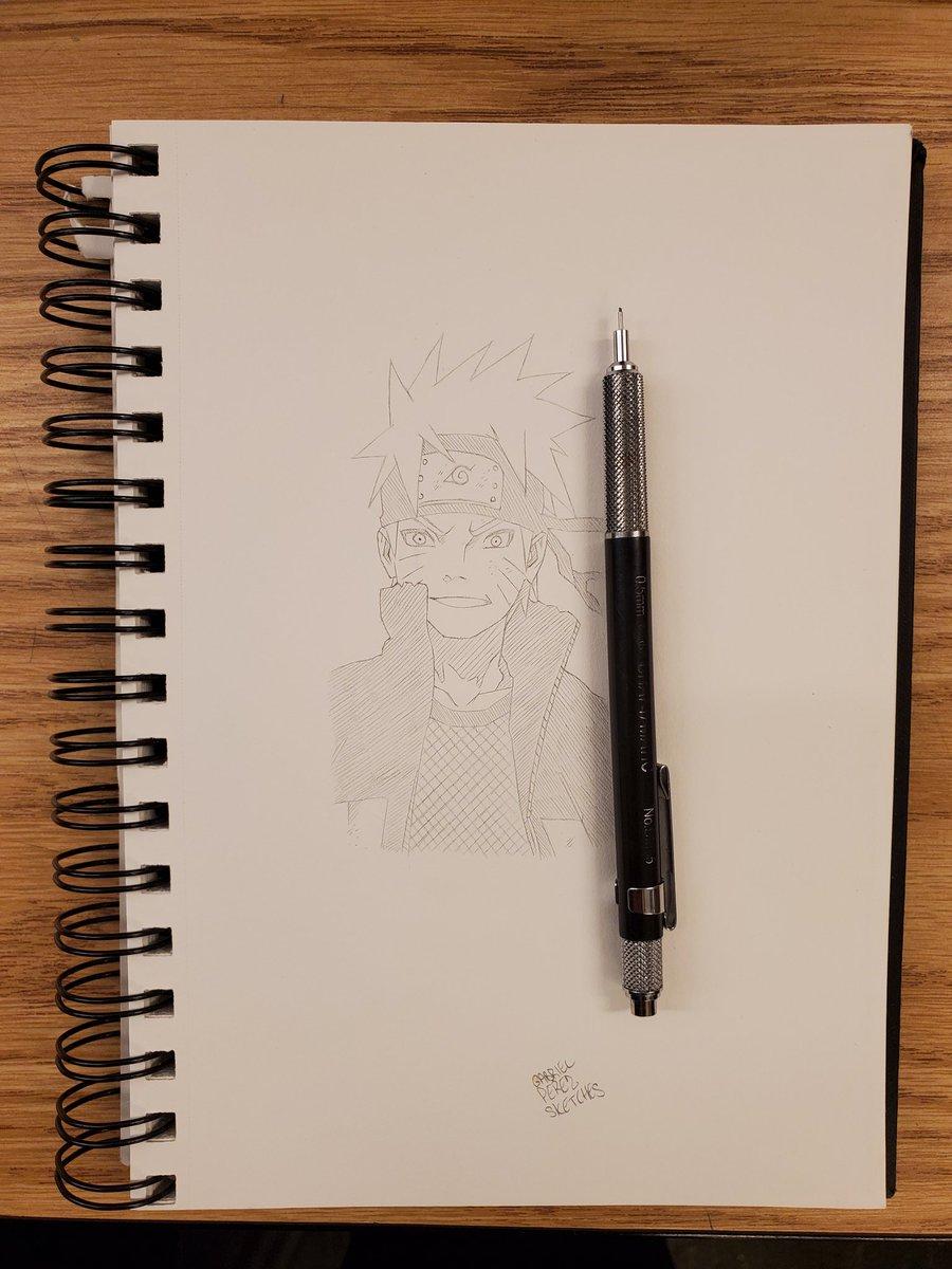 Naruto Uzumaki 🖊️  #sketchbook #sketchbookart #sketching #sketchbookdrawing #dailysketches #sketchdaily #pendrawing #quicksketch #justdraw #sketchpad #sketchoftheday #pencildrawing #figuredrawing #drawsomething #draweveryday #artofdrawing #drawdaily #inkdrawing #mysketchbook https://t.co/JJD1OF3wYa