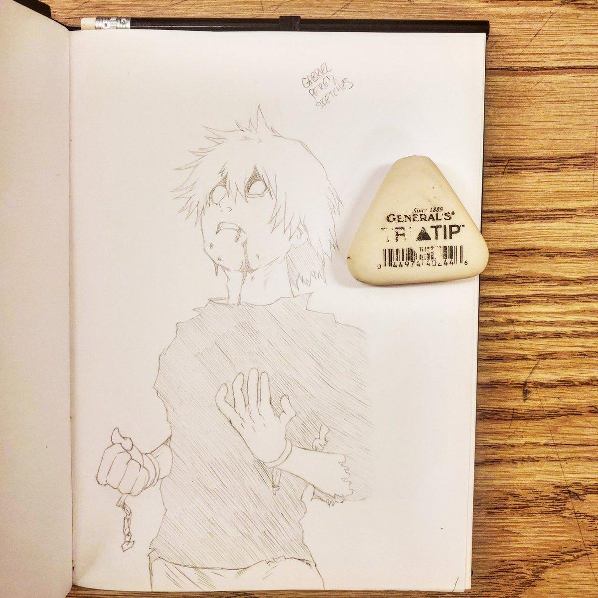 Kaneki Ken 🖊️  #sketchbook #sketchbookart #sketching #sketchbookdrawing #dailysketches #sketchdaily #pendrawing #quicksketch #justdraw #sketchpad #sketchoftheday #pencildrawing #figuredrawing #drawsomething #draweveryday #artofdrawing #drawdaily #inkdrawing #mysketchbook https://t.co/yhrgrLg2zc