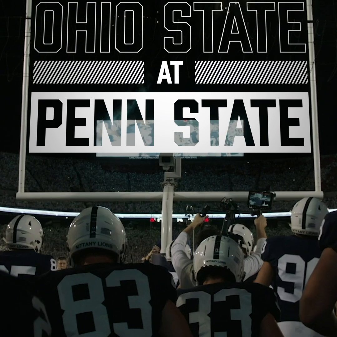 WE'RE HEADED TO HAPPY VALLEY! See you next week for Ohio State vs. Penn State 👏