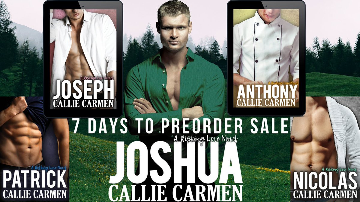 Catch up on the Risking Love Novels https://t.co/PgSNDm7UPc #PreOrder 11/1 JOSHUA #EXCERPT from Joshua https://t.co/s7NMjAQxTL  #romantic #MondayMorning #Romance #ComingSoon #eroticromance #contemporaryromance #romancebooks #romancenovels #RomanceReaders #Reading #ASMSG #books https://t.co/QpWg7An8K3