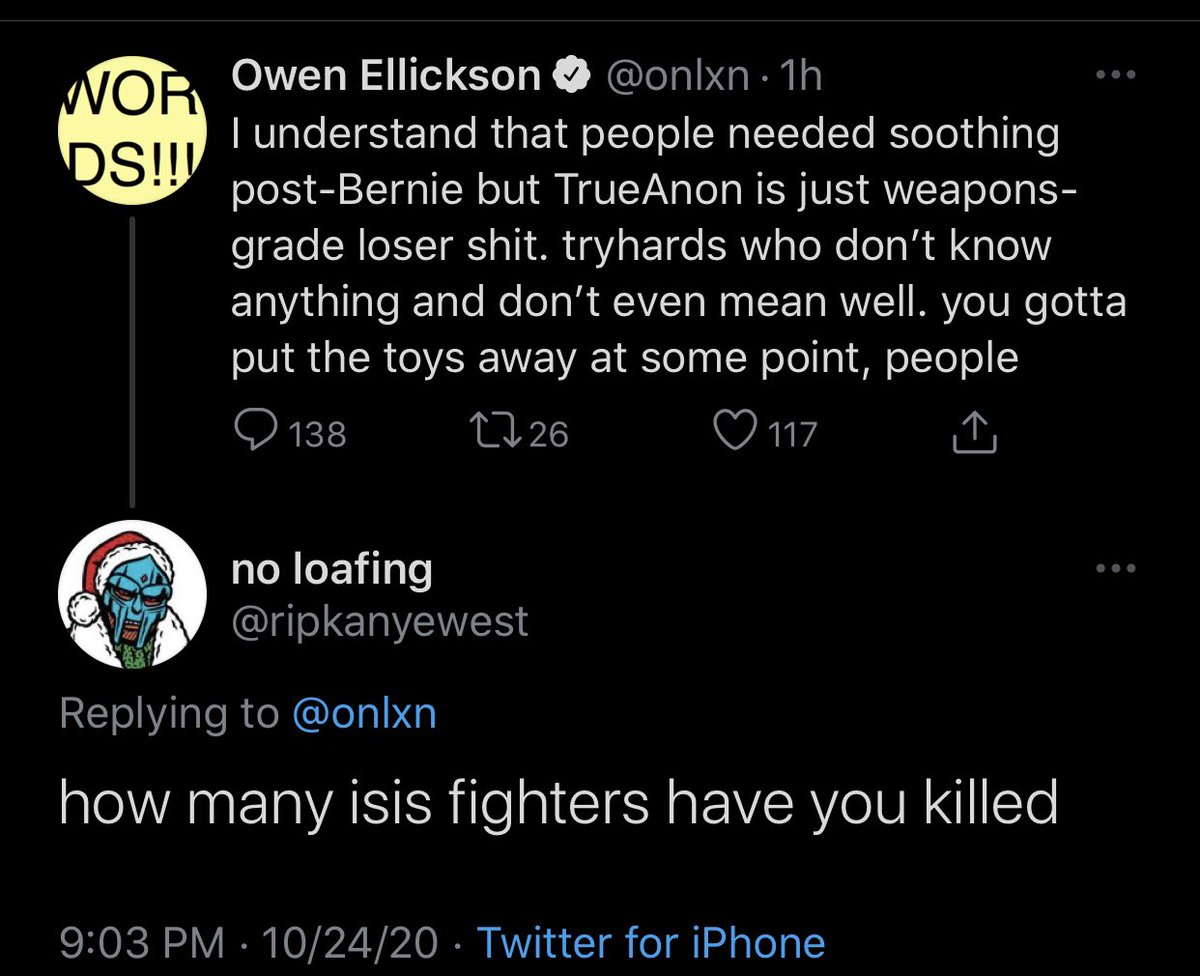 I will never log off this hellsite because of the laughs dumb shit like this can bring me