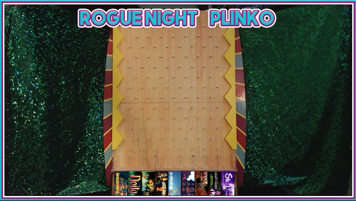 RomComm - There's too many good roguelites out there and I can't decide which one to play.   Roguenight Plinko: