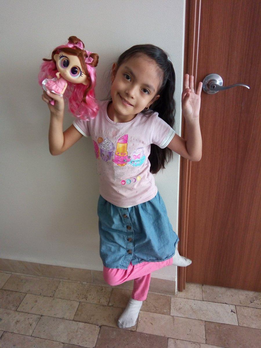 Ya tengo mi muñeca de @mis_pastelitos , estoy feliz 😘🤣🤣🤣, gracias @Distroller por esta genial muñeca