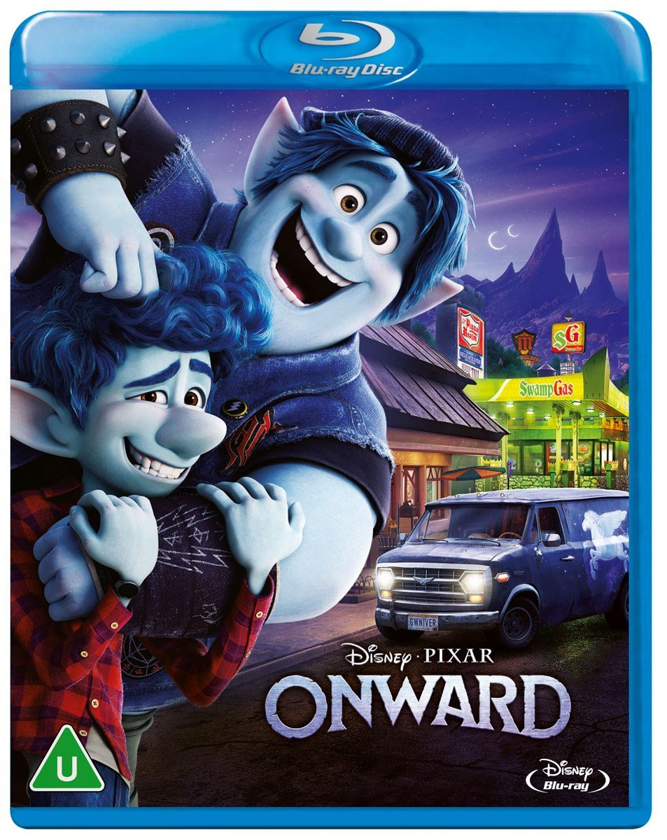 Got #Pixar's #Onward on blu today aaaaaaaaaand this is the cover they gave us in the UK. Really? Also hey, who remembers when Disney's blu-rays had good bonus features? https://t.co/u737mwthnF