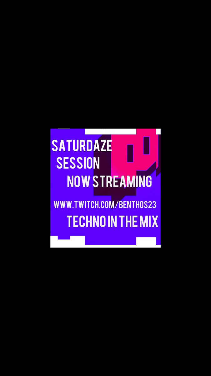 Saturdaze session now streaming.   Techno in the mix   https://t.co/iq9dCCY5jC   Live feed and archived videos  #push #twitch #traktor #techno #techouse #twitchstreamer #momentum #dosomething #scranton #inthemix #house #housemusic https://t.co/iMTlxFBJWJ