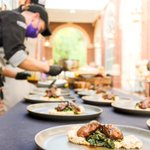 Have you heard about @hpudining's Farm to Fork dinners⁉️ HPU chefs are hosting monthly special Farm to Fork dining experiences for students who enter the contest over on @hpudining's Instagram page! 🍽💜 #HPU365