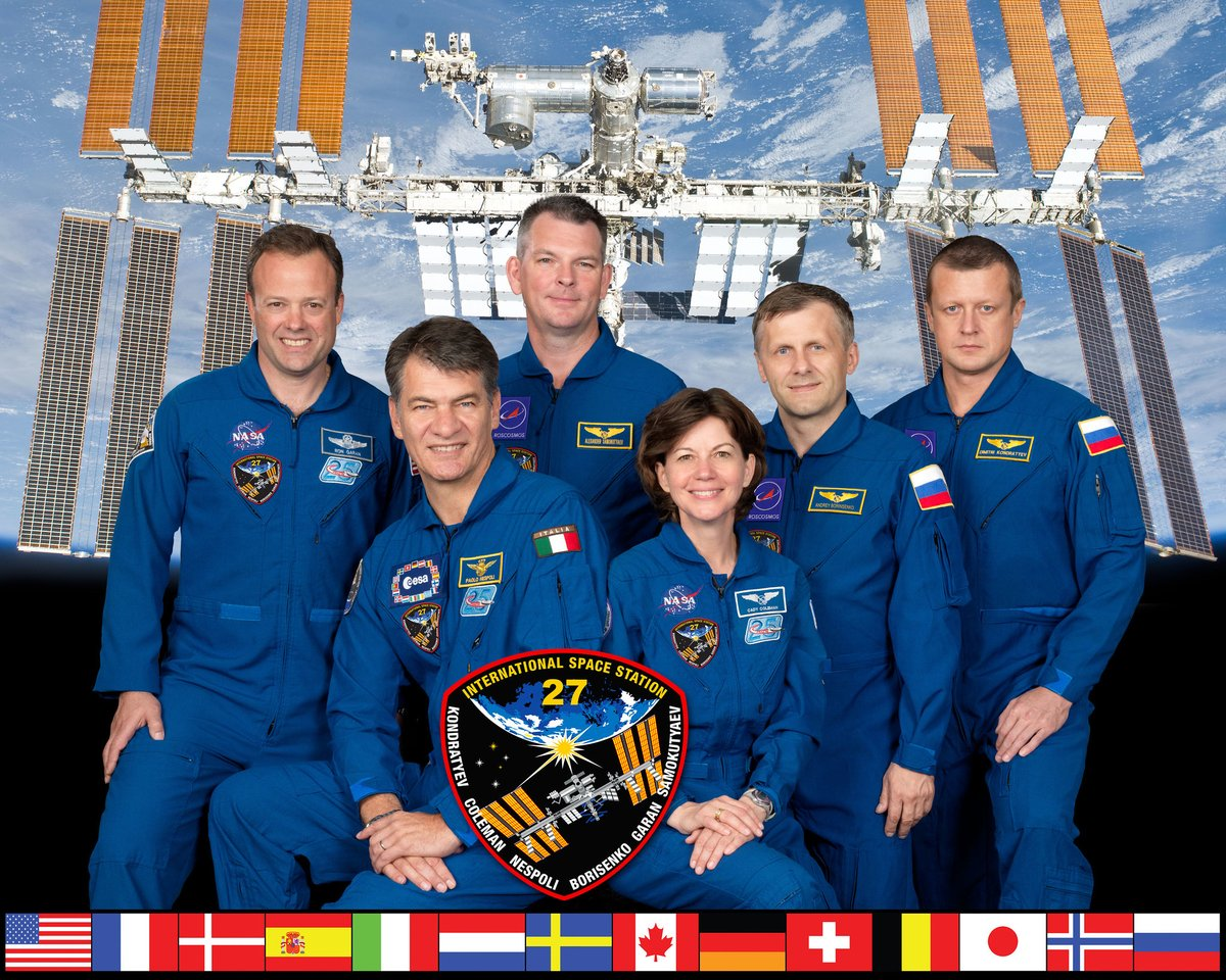 Expeditions 27, 28, 29, and 30 kept the space station inhabited during 2011. This year was also the Space Shuttle Programs final flight, with Atlantis bringing @ESA's Raffaello multipurpose logistics module to its new home on the station. #SpaceStation20th