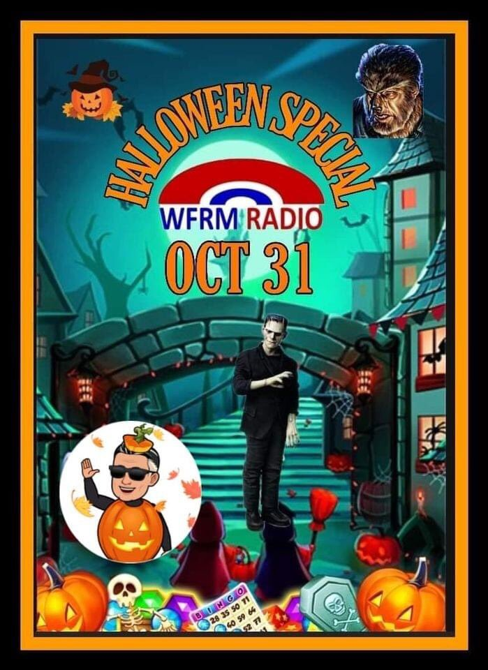 Catch me next Sat 6-9pm  for a Halloween special on one of the best online radio stations in Brum & the Black Country on WFRM radio be glad of your company website tune in https://t.co/8e0vHJdX4S #wfrm #mashups #onair #blackcountry #wolverhampton #dance #inthemix #90s #Halloween https://t.co/11Pa5AOl90