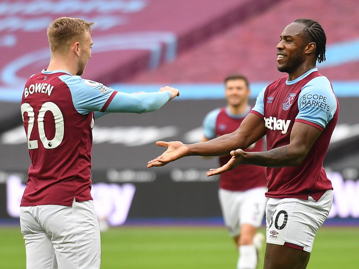 ✨ All 39 of @Michailantonio's #PL goals have been scored from inside the area  #WHUMCI https://t.co/dOjifZZJLH