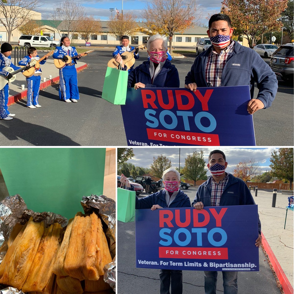 La fiesta hosted by Rudy Soto #Nampa Hispanic Cultural Center. ¡Tamales ... muy delicioso! #LatinoVote  Watch for upcoming events in #Idaho & plz RT #10DAYS #idpol  #Vote for Rudy Soto #id01  ##Vote for a #veteran 🇺🇸 https://t.co/1aURPfBkYU