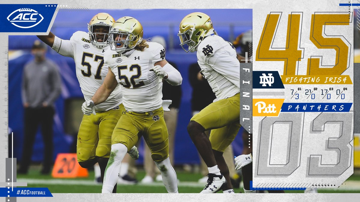 @ACCFootball's photo on Notre Dame