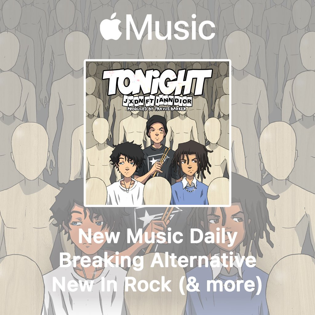 Thank youuuu @AppleMusic!!! So grateful. -Team jxdn