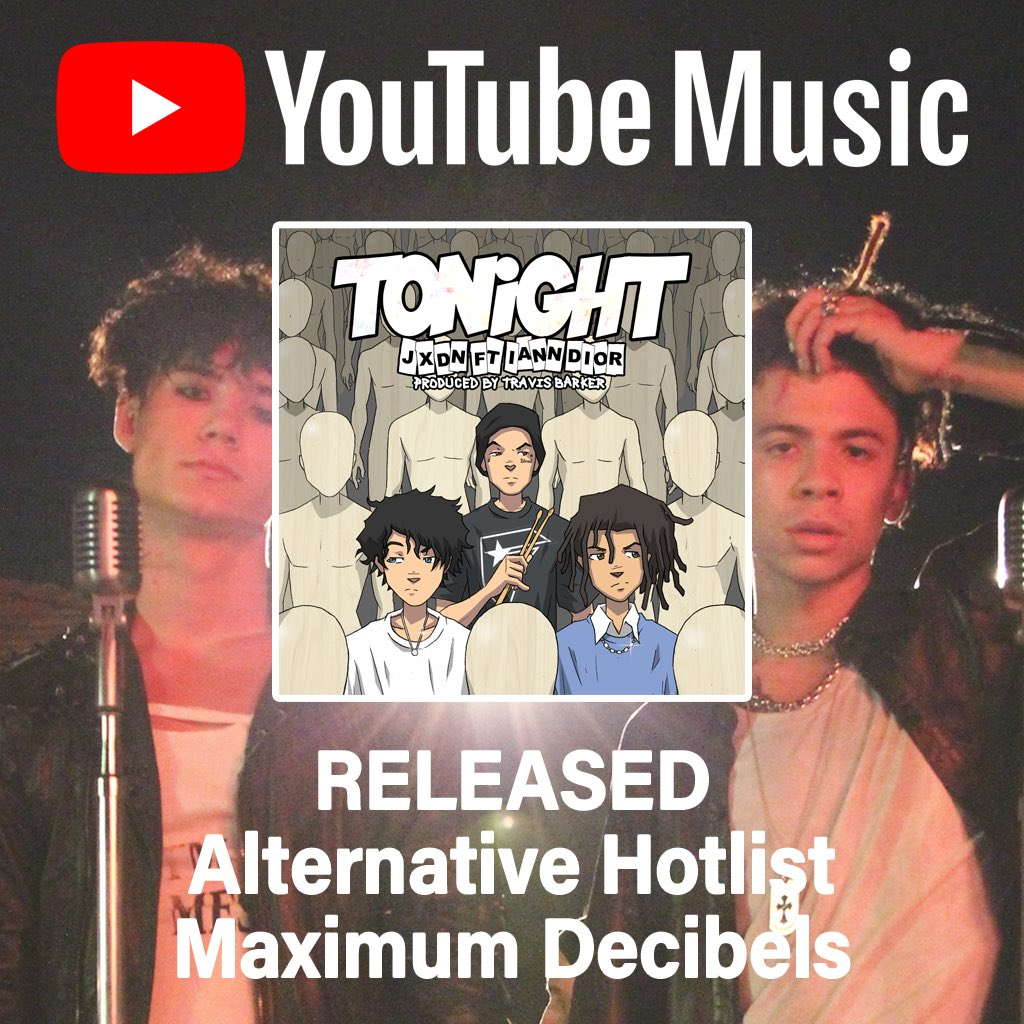& you the best @youtubemusic! so blessed!!! -Team jxdn