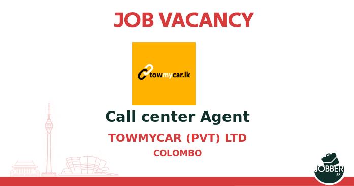 Job vacancy Call center Agent from Towmycar (pvt) Ltd. To Apply : https://t.co/gRXjF2skzX . #jobsInSriLanka #sriLanka #sriLankan https://t.co/5D9rAKegFH