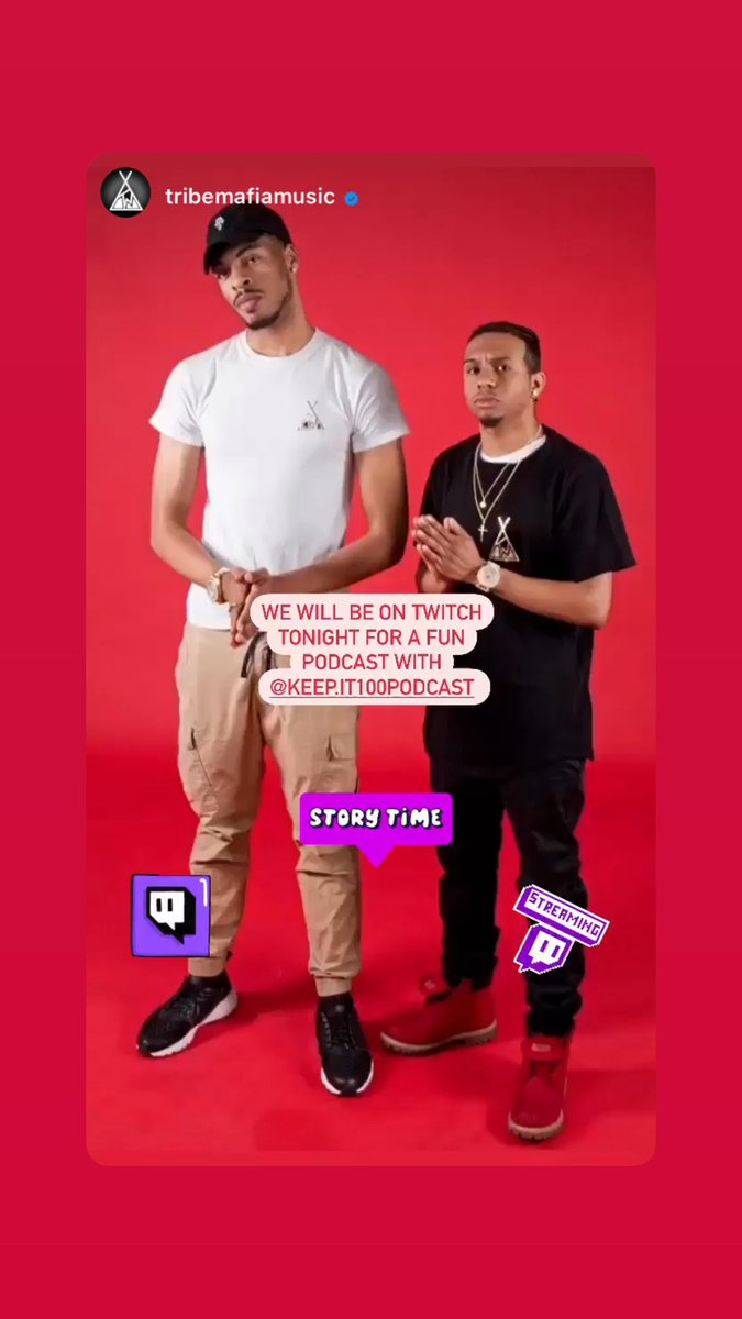 We got the 🐐🐐🐐🐐🐐 @TribeMafia joining us on our Twitch Channel Tonight. #TwitchStreamers  #podcastshow  #rapmusic  #austintexas https://t.co/UHoWQBNTN9