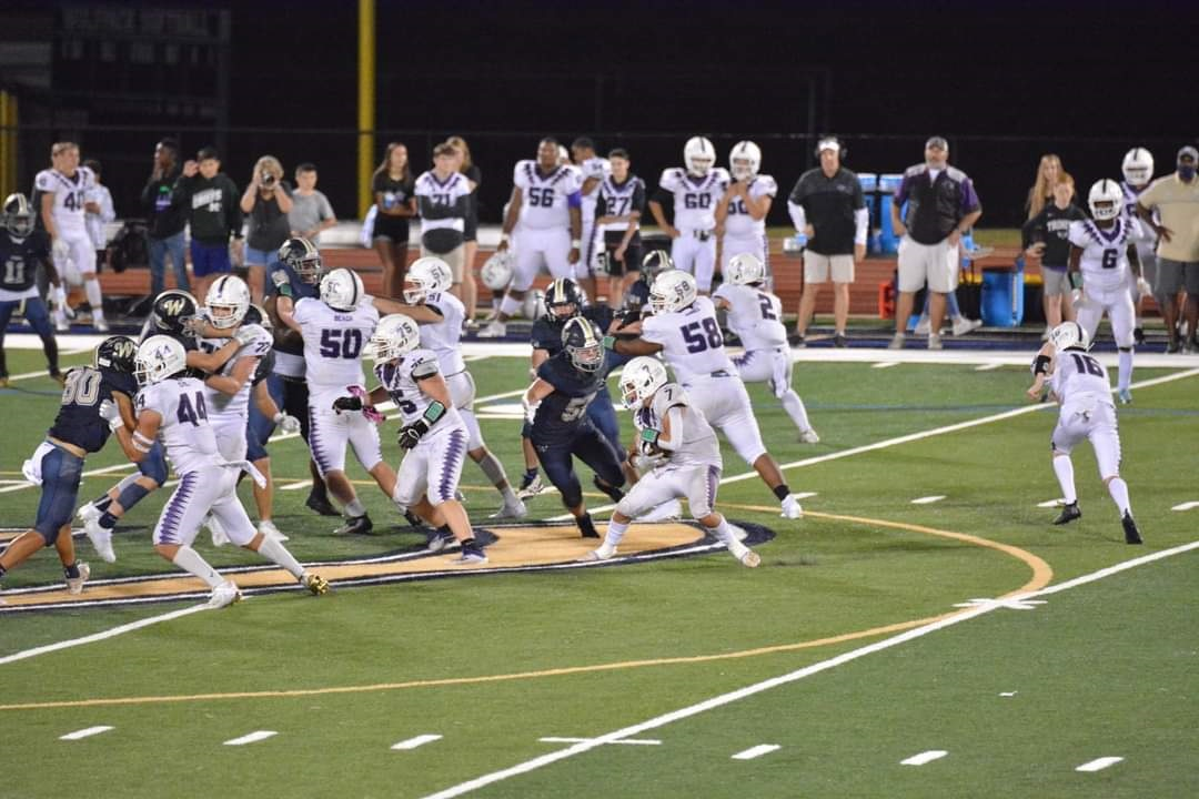 For @football_tcs - @TysonWall23 had 56 yards rushing on 12 carries in their 20-12 victory over Whitefield Academy https://t.co/dkWtNhccjT