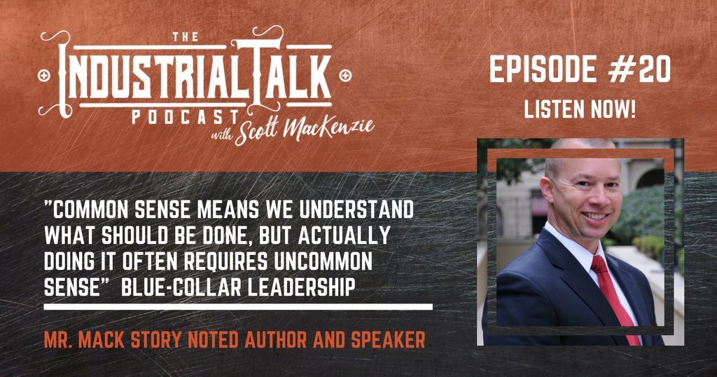 Mack Story encorage, motivates, inspires your industrial career to the next level.  Listen at: https://t.co/jUt6uKhaBE #podcasting #industrialtalk https://t.co/knlVYbEcVe