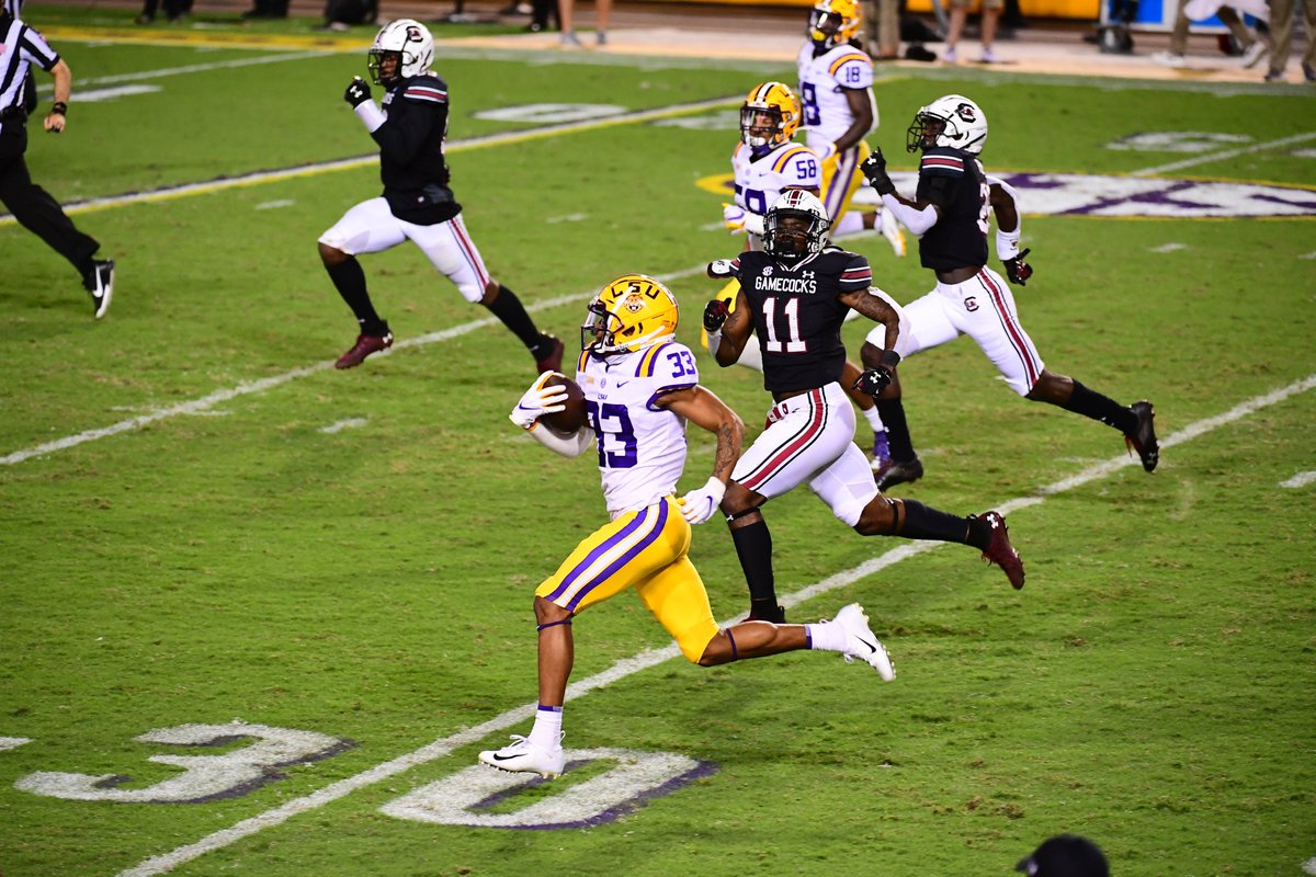Lsu Football On Twitter The Streak Is Over Treythekiid33 Returns The First Kick Return For A Td In Tiger Stadium Since 1981