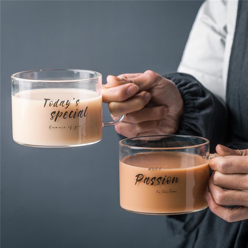 #recipes #household Креативная шикарная стеклянная кружка с буквенным соком, чашка для воды, кофе, прозрачные кружки кружка для пива с ручкой для влюбленных подарки для пары 500 мл https://t.co/uCozeQtpfi