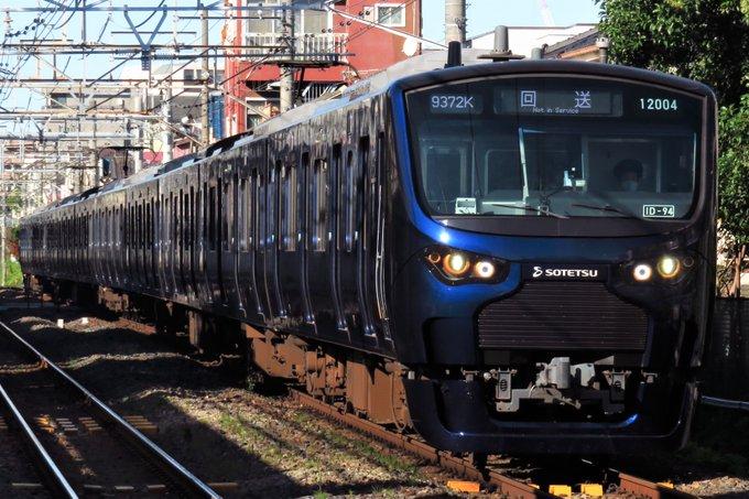 【ようやく返却】川越車両センターに貸し出されていた相鉄12000系12104Fが返却回送 相鉄が池袋まで直通するための試験か?