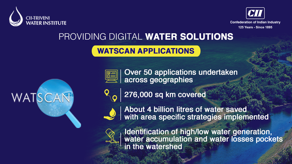 WATSCAN applications enable action on the ground by industry, backed by digital and scientific assessment. For more details, visit: https://t.co/xjbNvTJldL  #water #savewater https://t.co/RGY3BvCNyp