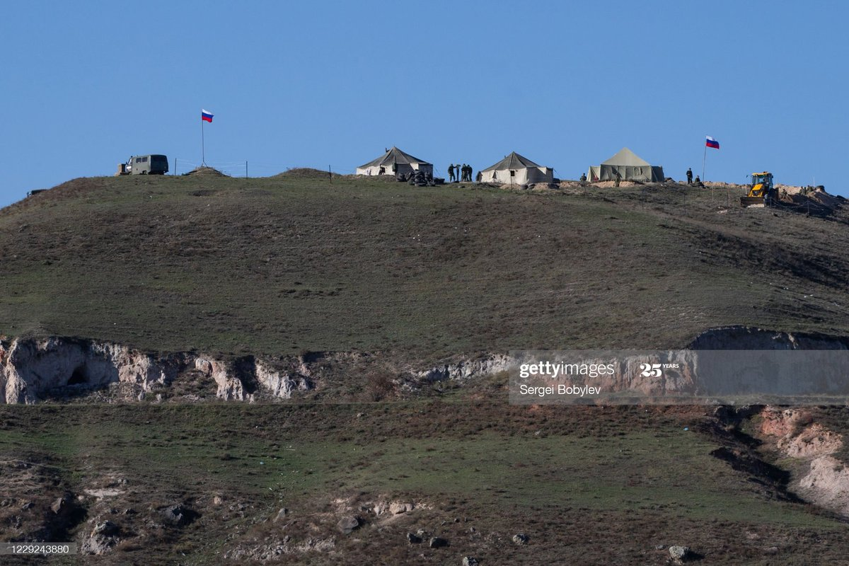 На границе с Карабахом